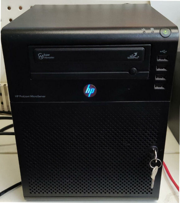 Firewall HP N40L