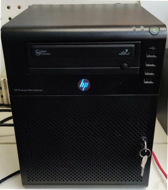 Firewall HP N40L